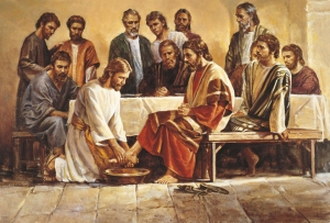 """""""I have given you an example, that ye should do as I have done to you"""" (John 13:15)."""